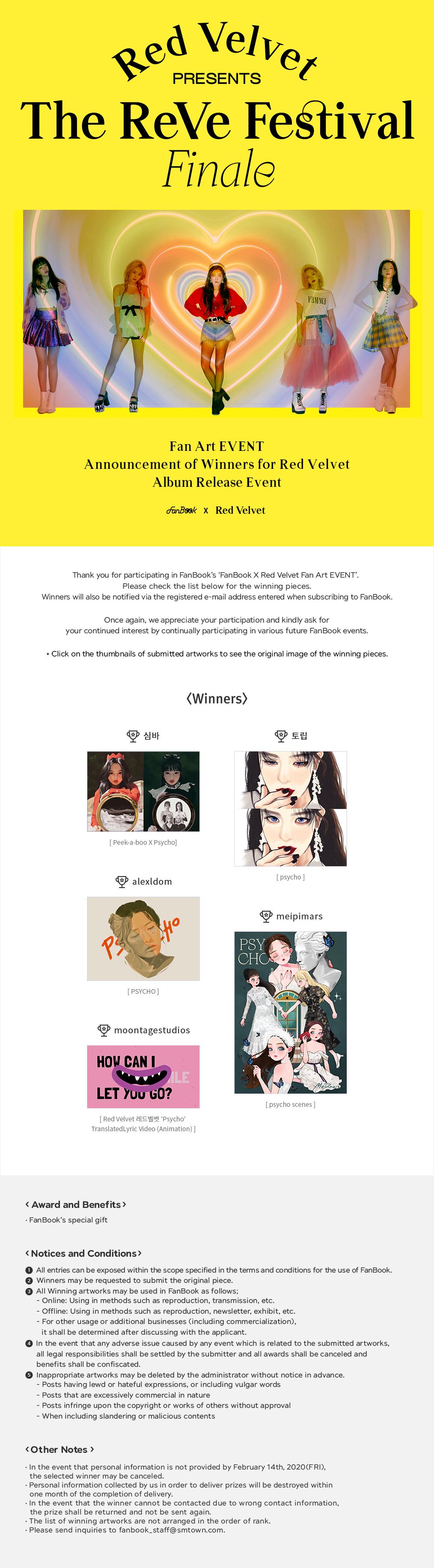 FanBook X Red Velvet Fan Art EVENT